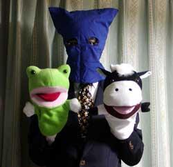 牛君と蛙君